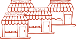 Aprono i nuovi negozi del Panificio Alinovi a Parma.