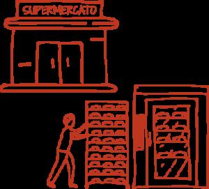 Il Panificio Alinovi distribuisce il pane nei supermercati dell'Emilia Romagna.