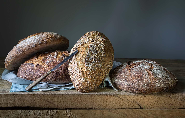 Pane ai cereali integrale del Panificio Alinovi.