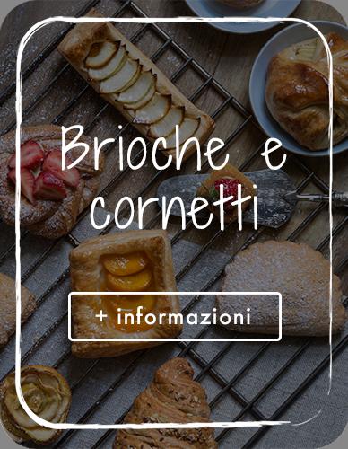 Brioche, cornetti, danesi, paste sfogliate del Panificio Alinovi di Parma.