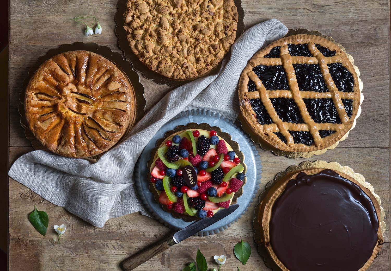 Crostate e torte da forno del Panificio Alinovi a Parma, Collecchio e Ozzano Taro.